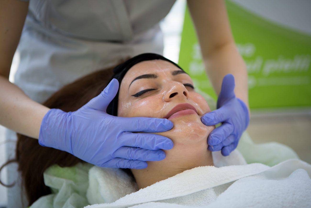 drenaj limfatic facial