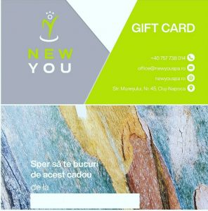 card cadou new you